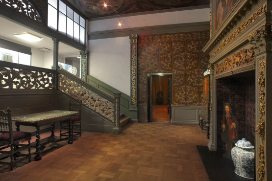 Period rooms in the Kunstmuseum The Hague