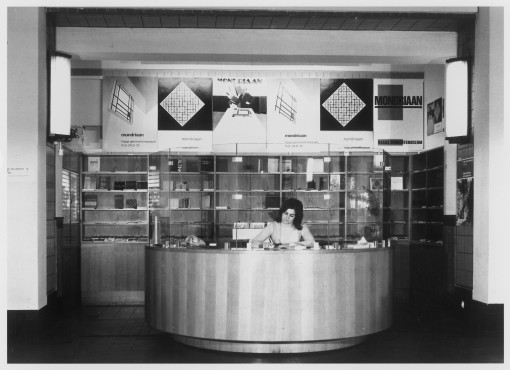 Archival photograph museum shop Kunstmuseum The Hague