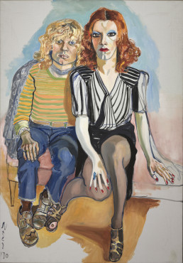Alice Neel, Jackie Curtis and Ritta Redd, 1970, Olieverf op doek; 152.40 x 106.40 cm, The Cleveland Museum of Art, Leonard C. Hanna, Jr. Fund 2009.345  © The Estate of Alice Neel