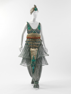 Paul Poiret Fancy-dress costume, probably worn to Poirets The Thousand and Second Night' Party, 1911 The Metropolitan Museum of Art