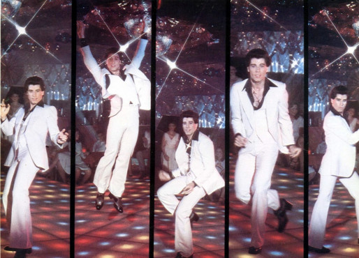 John Travolta in Saturday Night Fever, 1977 © Hollandse Hoogte