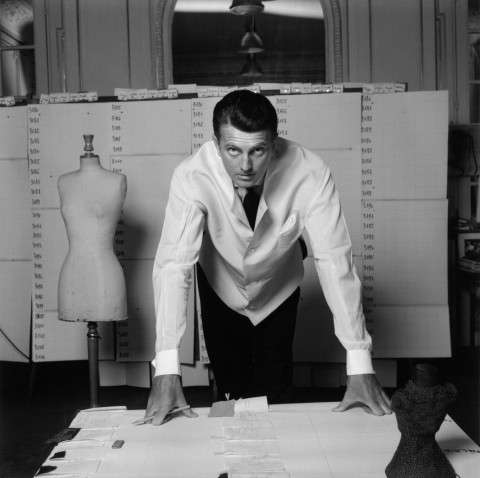 Hubert de Givenchy, 1960, Foto: Robert Doisneau; courtesy Hubert de Givenchy